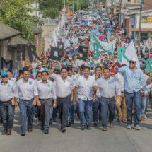 Marcos Bravo arranca su campaña con más de 6 mil personas