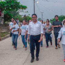 Mazin Grande refrenda apoyo total a Marcos Bravo