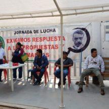 Bloquean sedes de la Sedesol y Sagarpa en Oaxaca