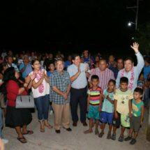 Gobierno de Salina Cruz contribuye en el progreso de San José del Palmar