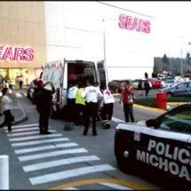 Ataque en centro comercial de Morelia deja tres muertos