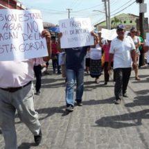 Exigen terminar con la escasez de agua en Tehuantepec, Oaxaca