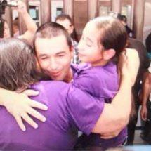 Liberan al activista León Fierro
