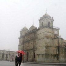 En las próximas horas se prevén lluvias muy fuertes en Oaxaca y Chiapas