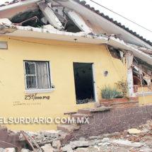 Una farsa del gobierno las simulaciones de verificaciones en casas dañadas por sismos