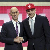 Luka Doncic, elegido en el tercer puesto del 'draft' por Atlanta, jugará con Dallas