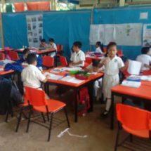 En avances la reconstrucción de salones de la escuela Roberto Colorado