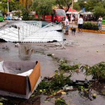 'Carlotta' deja cuatro personas heridas en Acapulco, Guerrero