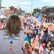Laura Castellanos cierra con fuerza su campaña