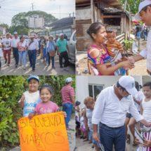Trabajaremos por el desarrollo de la colonia Esperanza y sus alrededores: Marcos Bravo
