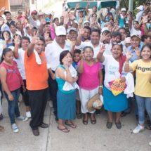 El pueblo confía en Dávila y cada día son más los que votarán por Nueva Alianza