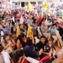 Con Alejandro López Jarquín daremos continuidad al gobierno del pueblo, aseguran vecinos de Xoxocotlán