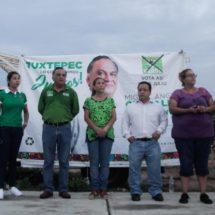 Grajales única opción para regresarle un gobierno serio a Tuxtepec, reitera Fentanez