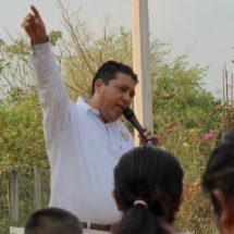 Con firmeza y aceptación de la ciudadanía avanza Javier Pacheco rumbo a la diputación