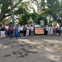 Periodistas de Tuxtepec y la Cuenca celebran el día de la libertad de expresión