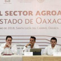 Refrendan Gobierno del Estado y Sagarpa compromiso por el desarrollo agropecuario de Oaxaca
