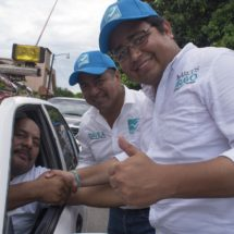 Se suman transportistas al proyecto de Dávila y Marcos Bravo