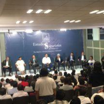 En debate, reprochan a Samuel Gurrión no ser de la capital y querer gobernarla