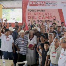 Llegó el momento de un gobierno eficiente y valiente  para Tuxtepec: Karina Barón