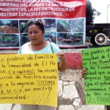 Truenan padres por falta de aulas en el Istmo, Oaxaca