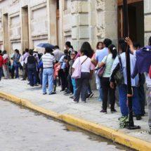 Insaciables, S-22 no desiste del paro en Oaxaca