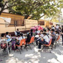 790 planteles sin reconstruir y los mil 200 millones del Fonden para las escuelas son invisibles en Oaxaca