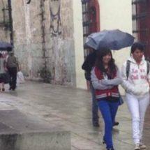 Prevén tormentas puntuales fuertes acompañadas de descargas eléctricas y posible caída de granizo en Oaxaca y Chiapas