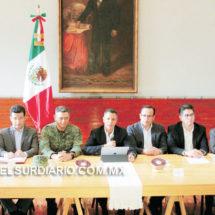 Refuerza gobierno seguridad en el marco del proceso electoral del 1 de julio