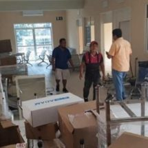 Llega equipamiento para el centro de salud de Huaxpaltepec