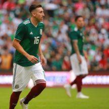 Héctor Herrera se ausenta de la concentración de México