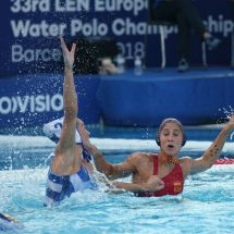 Varapalo de campeonato para el waterpolo femenino español