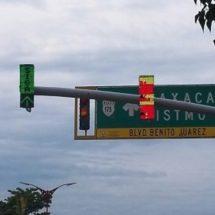 Empresa contratada aún no entrega los semáforos