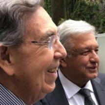 'Es un honor contar con el apoyo de Cuauhtémoc Cárdenas': López Obrador
