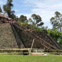 Descubren pirámide en Morelos que inspiró a construir el Templo Mayor