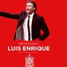 LUIS ENRIQUE, NUEVO DT DE LA SELECCIÓN DE ESPAÑA