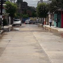 Se abrió a la circulación la calle Arista en Tuxtepec