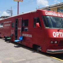 Con apoyo del Gobierno de Tuxtepec instalan módulo de salud visual