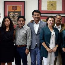 Rinden protesta integrantes del Consejo Ciudadano de la Defensoría de los Derechos Humanos del Estado de Oaxaca