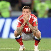 ¡Tristeza se apodera de los jugadores rusos!