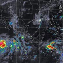 Huracán Fabio se ubica en la Península de BC