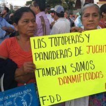 Aún no llega ayuda a damnificados en el Istmo, Oaxaca
