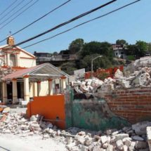 Por los sismos en Oaxaca, Tehuantepec pierde su fisonomía colonial