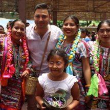 """Éxito rotundo de la """"Guelaguetza"""" en Santa Lucía del Camino, más de 8 mil personas admiraron este espectáculo"""