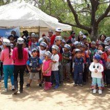 Sueñan y juegan a ser parte de las Fuerzas Armadas en Oaxaca