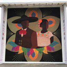 Guadalajara obtiene Record Guinness por mosaico de chaquira