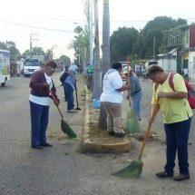 Invita Gobierno Municipal a mantener un Tuxtepec limpio