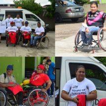 María Luisa Vallejo reconoce y apoya  al basquetbol sobre sillas de ruedas