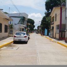 "Quedó al 100% la obra de la calle ""Rayón"""