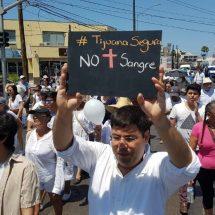 Marchan por la seguridad en Tijuana