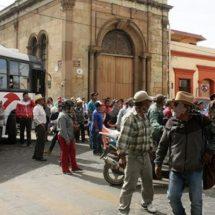 Inicia semana con movilizaciones y protestas en Oaxaca